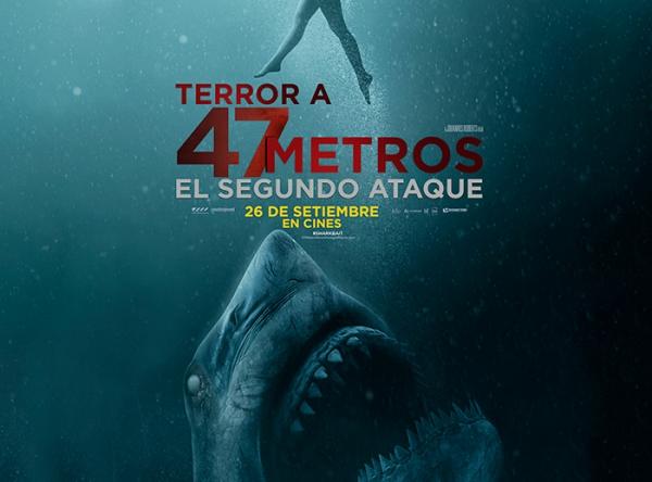 CONCURSO - TERROR A 47 METROS - Plaza Norte