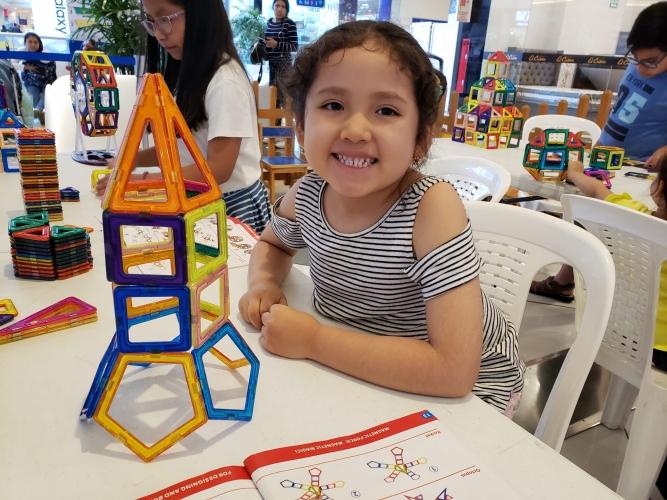 TALLER EDUCATIVO CON POLIEDROS CON EDUPLAY - Mall del Sur