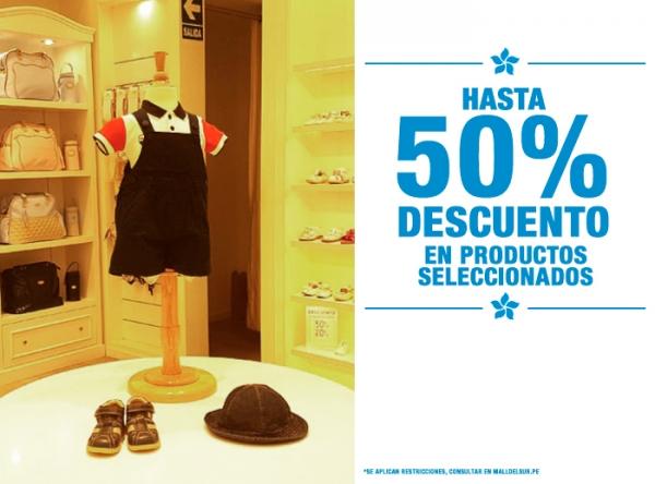HASTA 50% DCTO EN PRODUCTOS SELECCIONADOS Baby Club Chic - Mall del Sur