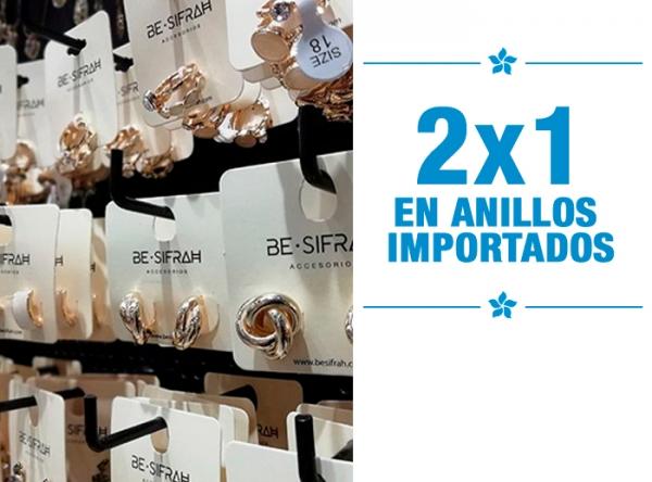 2 X1 EN ANILLOS IMPORTADOS BE SIFRAH - Mall del Sur