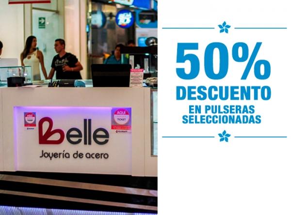 50% DCTO EN PULSERAS SELECCIONADAS  Belle Accesorios - Mall del Sur