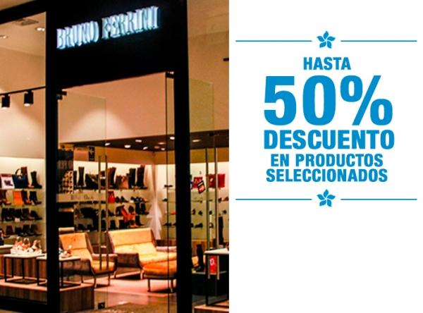 HASTA 50% DCTO EN PRODUCTOS SELECCIONADOS - Bruno Ferrini - Mall del Sur