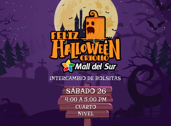 INTERCAMBIO DE BOLSITAS - HALLOWEEN - Mall del Sur