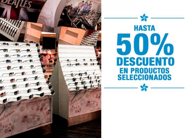 HASTA 50% DCTO EN PRODUCTOS SELECCIONADOS Chilli Beans  - Mall del Sur