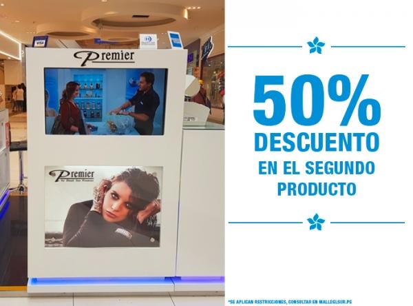 50% DCTO EN EL 2DO PRODUCTO Dead Sea Premier - Mall del Sur