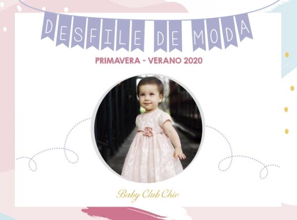 DESFILE DE MODA CON BABY CLUB CHIC - Mall del Sur