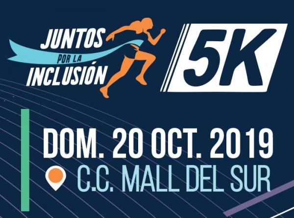 JUNTOS POR LA INCLUSIÓN 5K - Mall del Sur