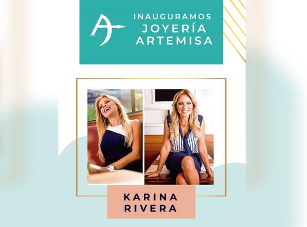 INAUGURACIÓN DE JOYERÍA ARTEMISA CON KARINA RIVERA - Mall del Sur