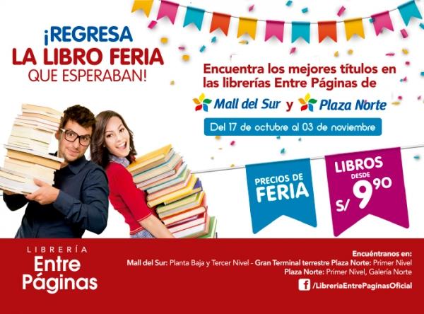 FERIA DE LIBROS - LIBRERÍA ENTRE PÁGINAS - Mall del Sur