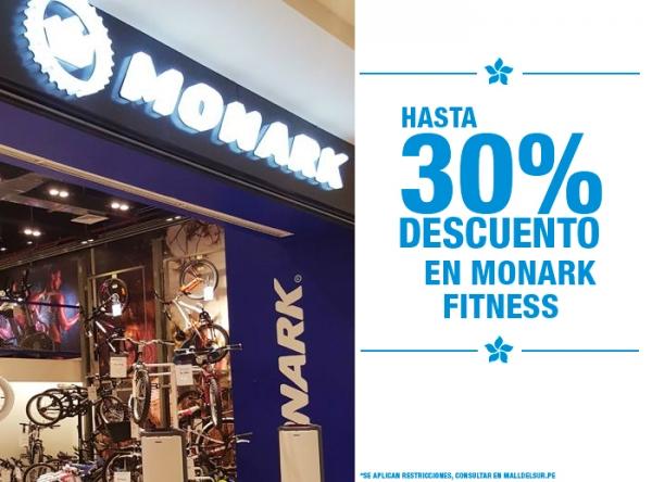 HASTA 30% DCTO EN MONARK FITNESS MONARK - Mall del Sur