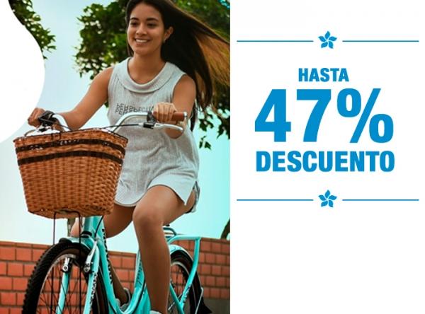 HASTA 47% DCTO  MONARK - Mall del Sur
