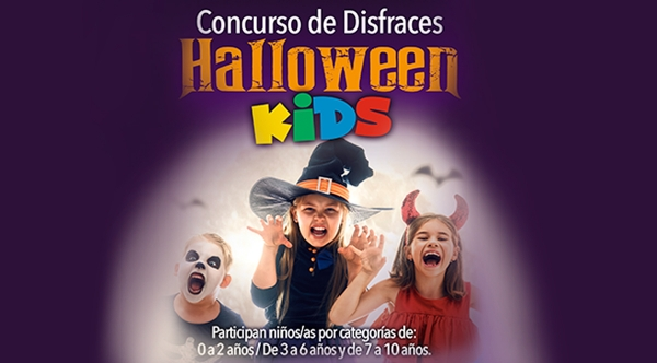 CONCURSO DE DISFRACES: HALLOWEEN KIDS - Mall del Sur
