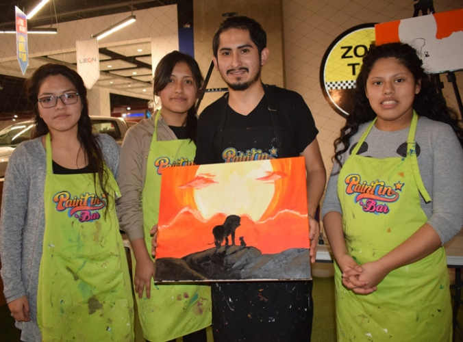 PAINT IN BAR - Mall del Sur