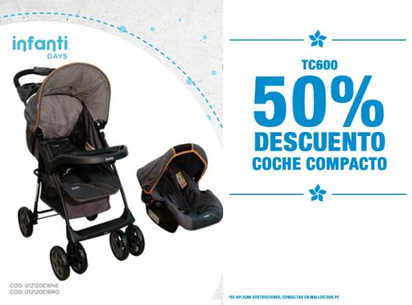 50% DCTO EN COCHE COMPACTO Baby Infanti - Mall del Sur