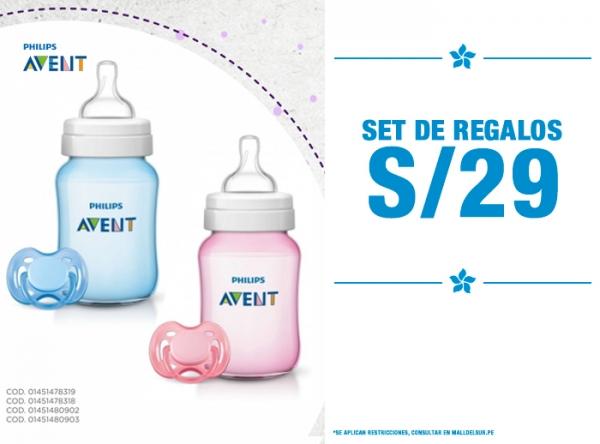 SET DE REGALOS S/29. Baby Infanti - Mall del Sur