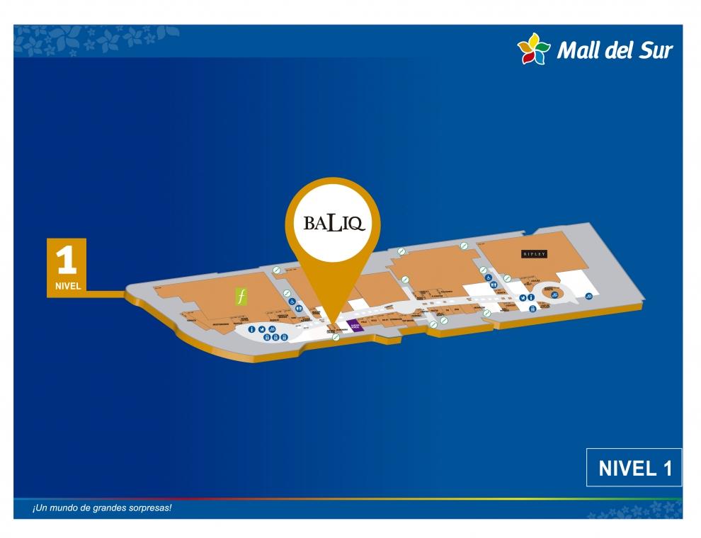 BALIQ - Mapa de Ubicación - Mall del Sur