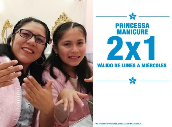 2 X 1 EN PRINCESSA MANICURE PRINCESSA  - Mall del Sur