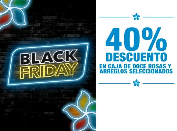 40% DCTO EN CAJA DE 12 ROSAS Y ARREGLOS SELECCIONADOS  - Plaza Norte