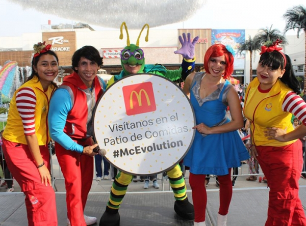 SHOW INFANTIL MC DONALD'S - Mall del Sur