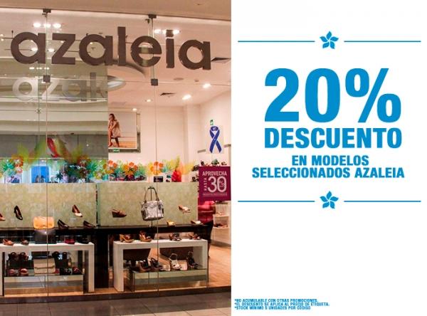20% DCTO EN MODELOS SELECCIONADOS AZALEIA - Azaleia - Mall del Sur
