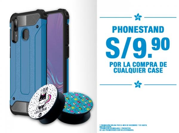 PHONESTAND A S/9.90 POR COMPRA DE CASE Be Smart - Mall del Sur