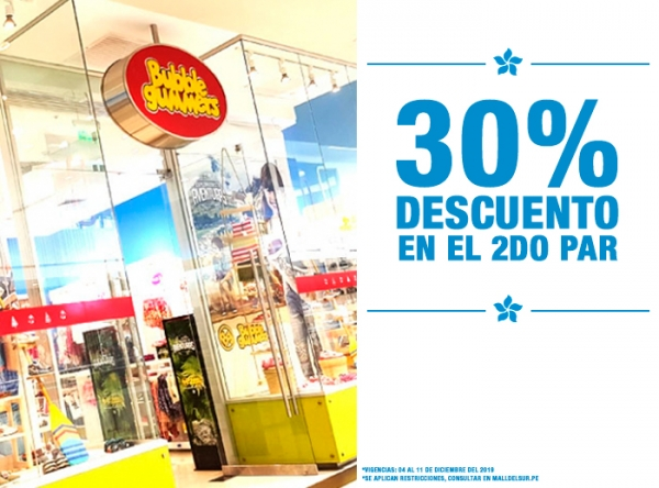 30% DCTO EN EL 2DO PAR - Plaza Norte