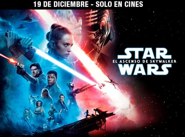 CONCURSO STAR WARS EL ASCENSO DE SKYWALKER - Plaza Norte