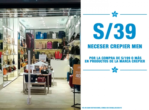 NECESER CREPIER MEN A S/39. Crepier  - Mall del Sur