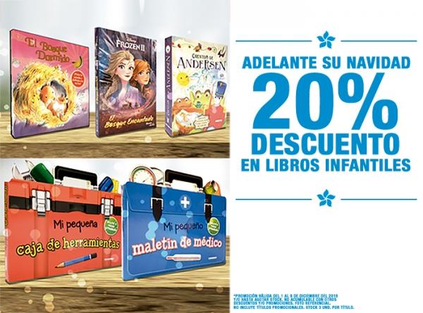 20% DCTO EN LIBROS INFANTILES Entre Páginas - Mall del Sur
