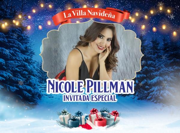 ENCENDIDO DEL ÁRBOL DE LA VILLA NAVIDEÑA CON NICOLE PILLMAN - Plaza Norte