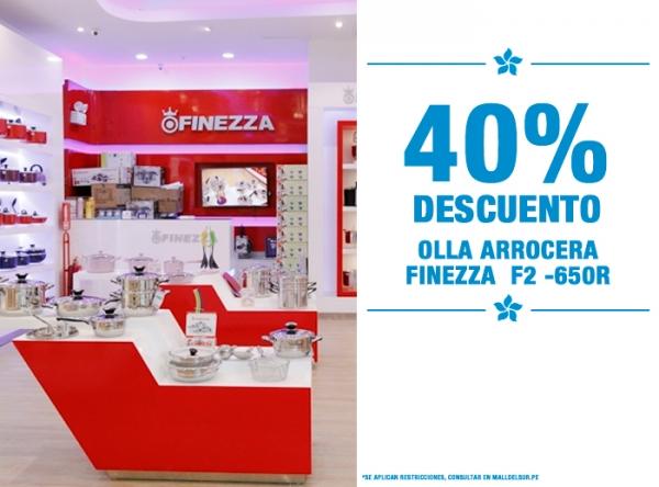 40% DE DSCTO Finezza - Mall del Sur