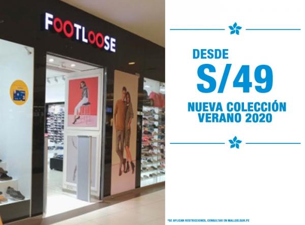 NUEVA COLECCIÓN VERANO 2020 DESDE S/49. FOOTLOOSE - Mall del Sur