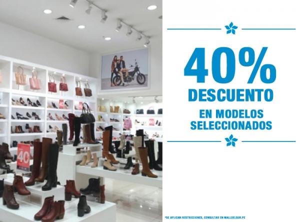 40% DE DSCTO EN MODELOS SELEC FOOTLOOSE - Mall del Sur