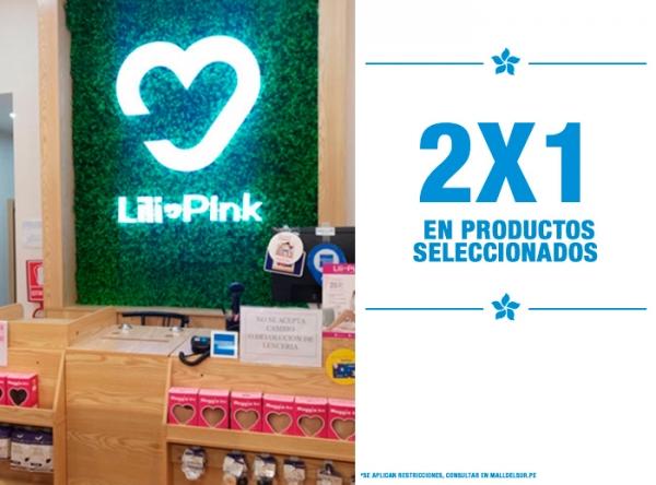 2 X 1 EN PRODUCTOS SELECCIONADOS LILI PINK   - Mall del Sur