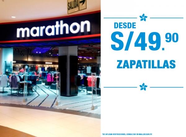 ZAPATILLAS DESDE S/49.90 MARATHON - Mall del Sur