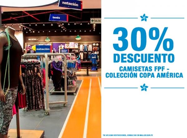 30% DCTO EN CAMISETAS FPF MARATHON - Mall del Sur