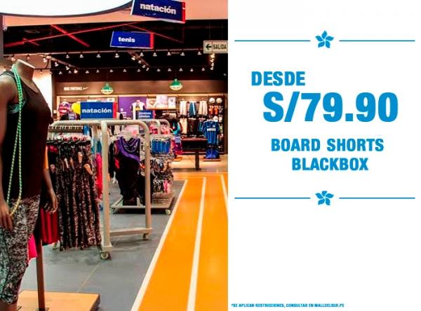 BOARD SHORTS BLACK BOX DESDE S/79.90 MARATHON - Mall del Sur
