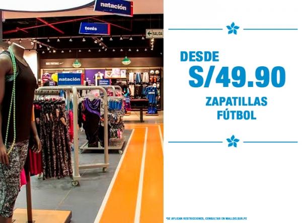 ZAPATILLAS DE FÚTBOL S/49.90 MARATHON - Mall del Sur