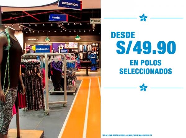 POLOS DESDE S/49.90 MARATHON - Mall del Sur