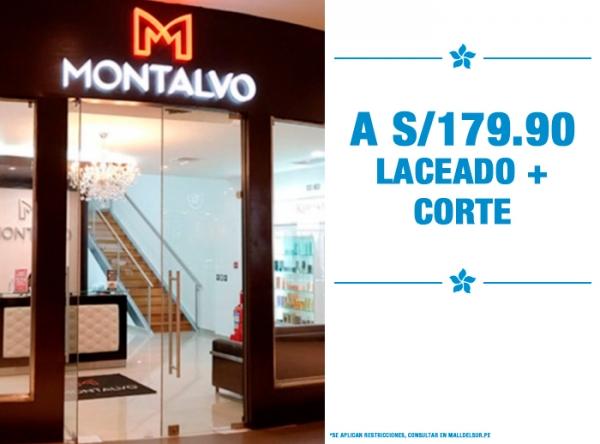 LACEADO + CORTE A S/179.90 MONTALVO - Mall del Sur
