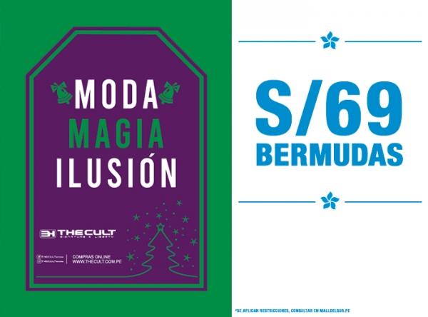 BERMUDAS A S/69. The Cult - Mall del Sur