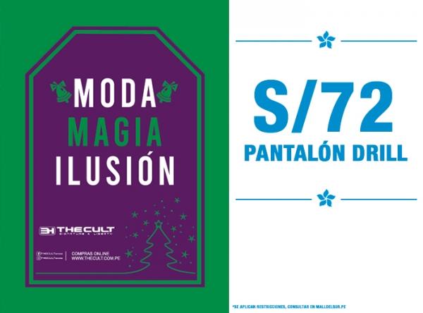 PANTALÓN DRILL A S/72. The Cult - Mall del Sur