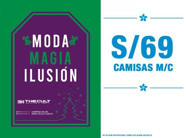 CAMISAS MANGA CORTA S/69. The Cult - Mall del Sur