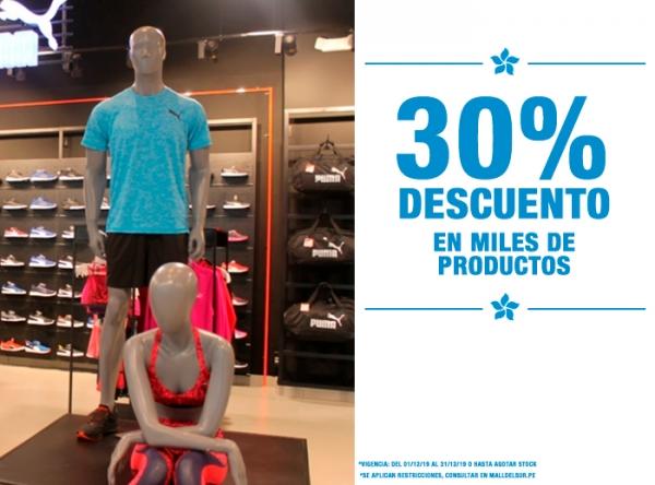 30% DCTO EN MILES DE PRODUCTOS TRIATHLON SPORT  - Mall del Sur
