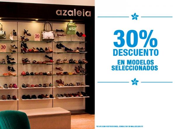 30% DCTO EN MODELOS SELECCIONADOS - Azaleia - Mall del Sur