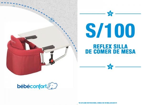 REFLEX SILLA DE COMER DE MESA S/100. Baby Infanti - Mall del Sur