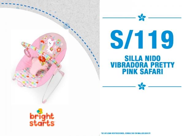 SILLA NIDO VIBRADORA A SOLO S/119 Baby Infanti - Mall del Sur