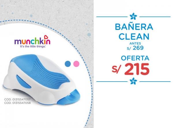 BAÑERA CLEAN A SOLO S/215 Baby Infanti - Mall del Sur