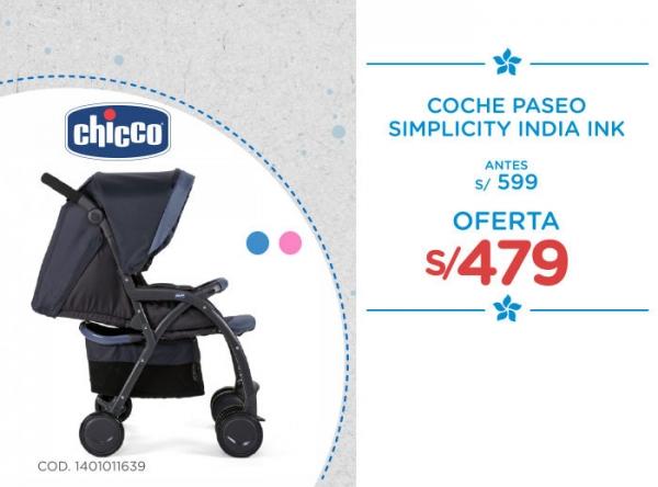 COCHE PASEO SIMPLICITY A S/479 Baby Infanti - Mall del Sur