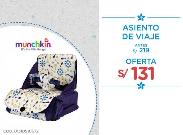 ASIENTO DE VIAJE A SOLO S/131. Baby Infanti - Mall del Sur